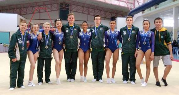 Big medal haul for SA at Junior Commonwealth Games