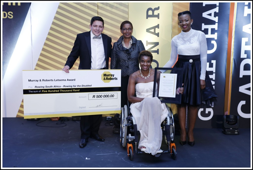 Letsema Award Winner - Rowing South Africa, Rowing for the Disabled