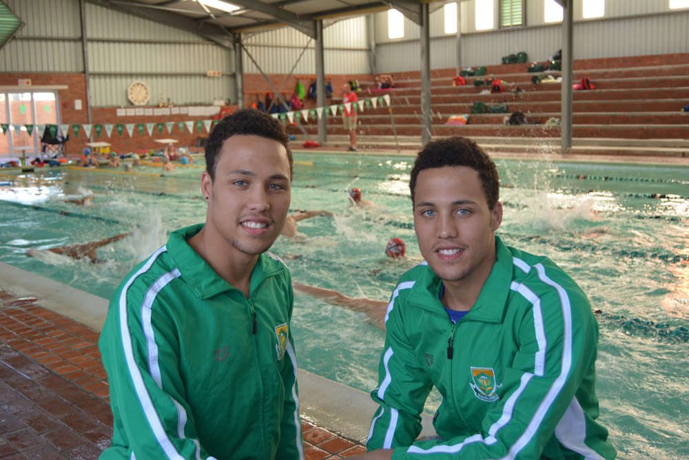 Swim twins set sights on World Championships
