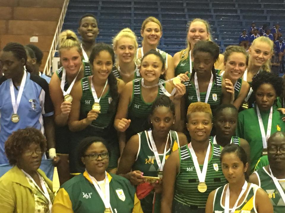 Netballers shoot their way to Region 5 gold in Angola