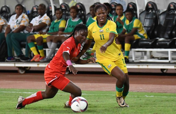 LUANDA, ANGOLA - DECEMBER 17: Antonia Maponya during the soccer finals vs Namibia on day 9 of the 2016 Africa Union Sports Council Region 5 Games on December 17, 2016 in Luanda, Angola. (Photo by Wessel Oosthuizen/Gallo Images)