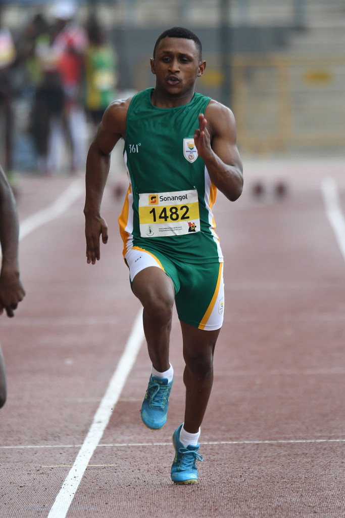 LUANDA, ANGOLA - DECEMBER 12: Reagan Wilson during the athletics on day 4 of the 2016 Africa Union Sports Council Region 5 Games on December 12, 2016 in Luanda, Angola. (Photo by Wessel Oosthuizen/Gallo Images)