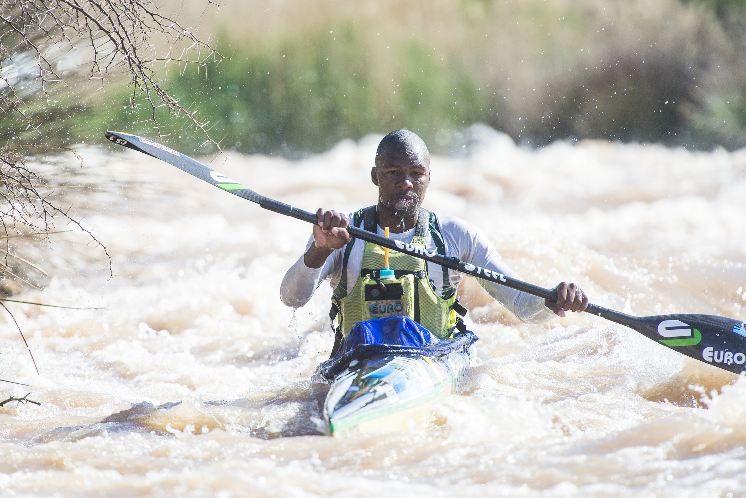 Khwela ups paddling skills in bid to break into Drak Challenge top 10