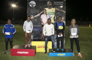 Atheletics at Greenpoint Stadium, Cape Town, 18 January 2017.