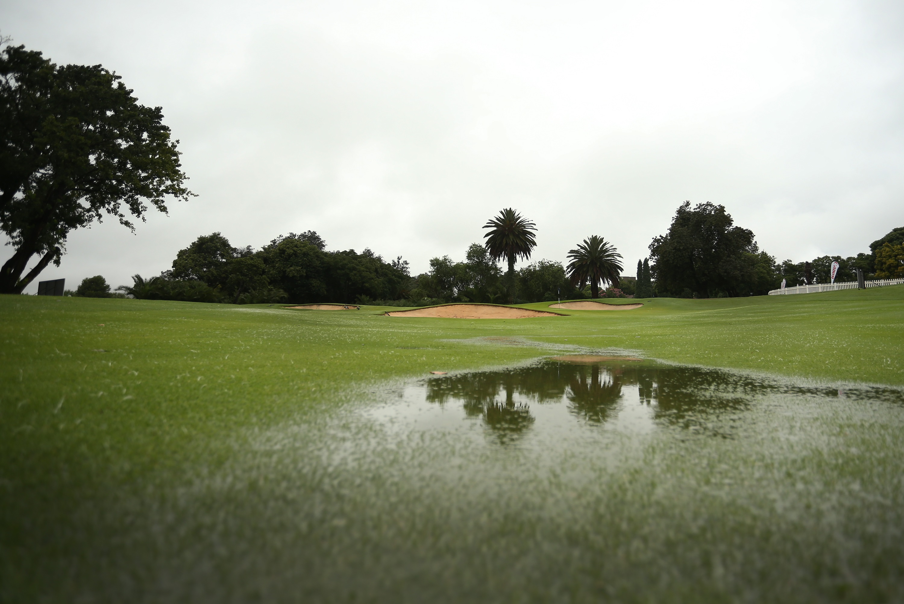 Rain wins at Glendower and forces early Sunshine start