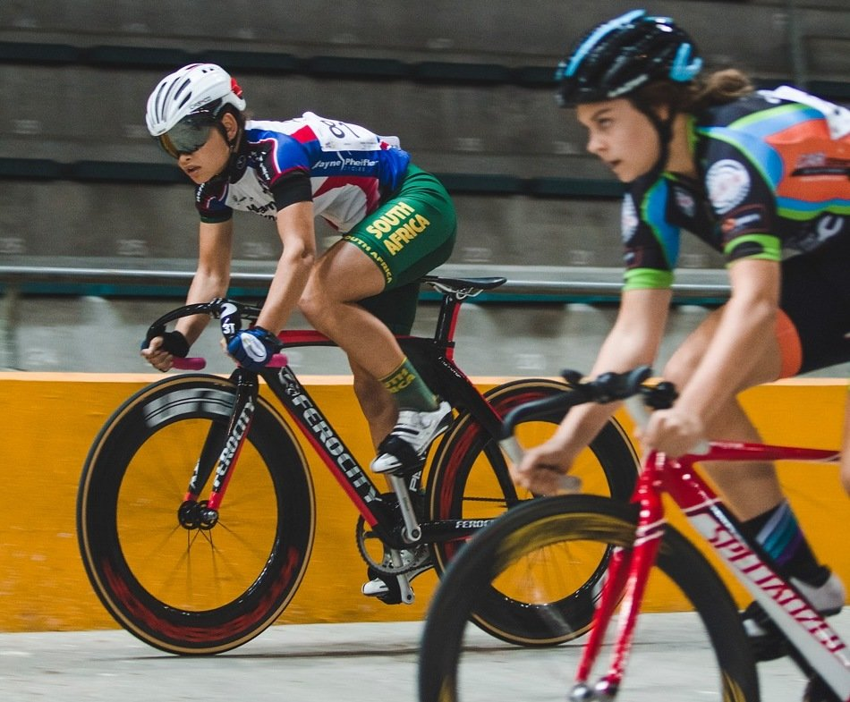 88a1a1d1284 National records tumbled as South Africa's track cycling stars lit up the  Bellville Velodrome on Thursday's fourth day of the 2017 SA National Track  ...