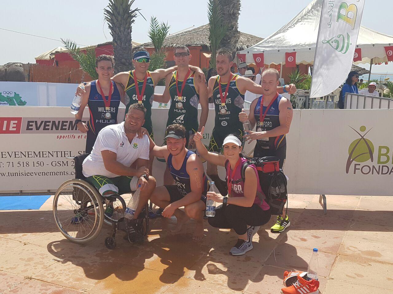 High fives as SA para-athletes take gold in Tunisia