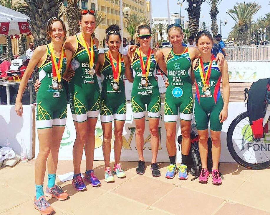 SA athletes shine with heaps of medals at African Championships
