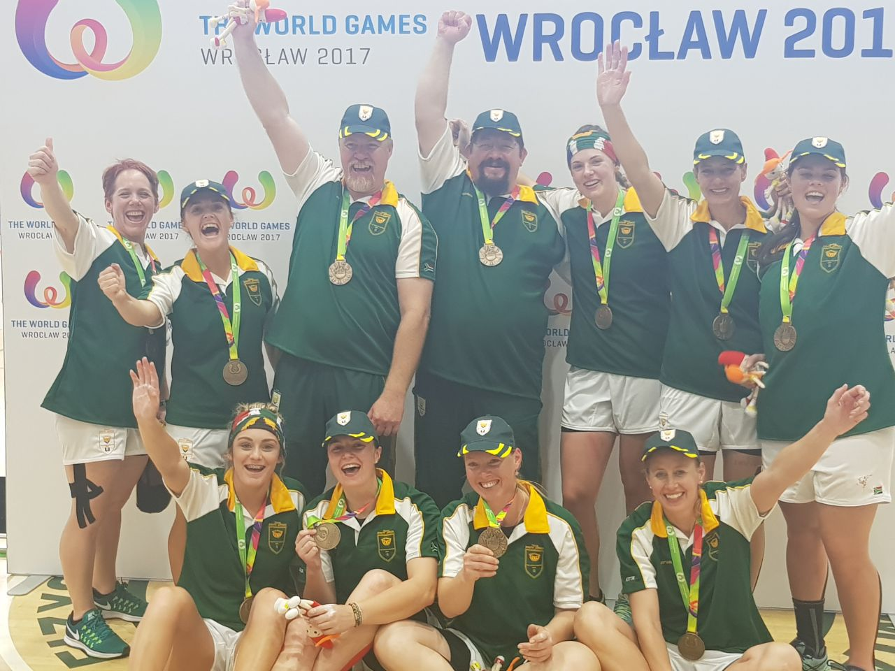 Tug-of-war team win SA's only medal at 2017 World Games