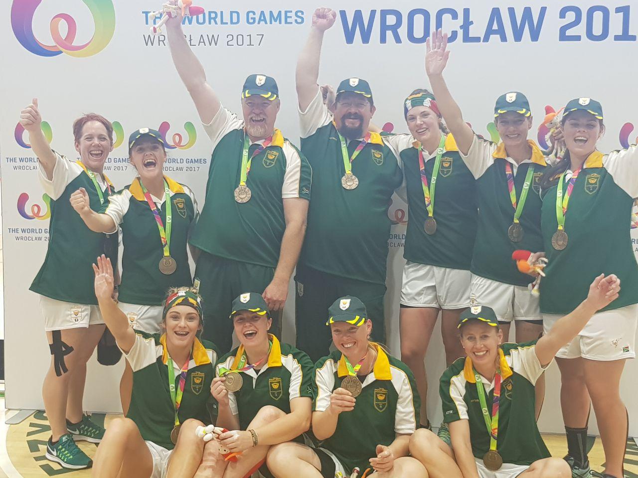 Tug-of-war team win SA's only medal at 2017 World Games