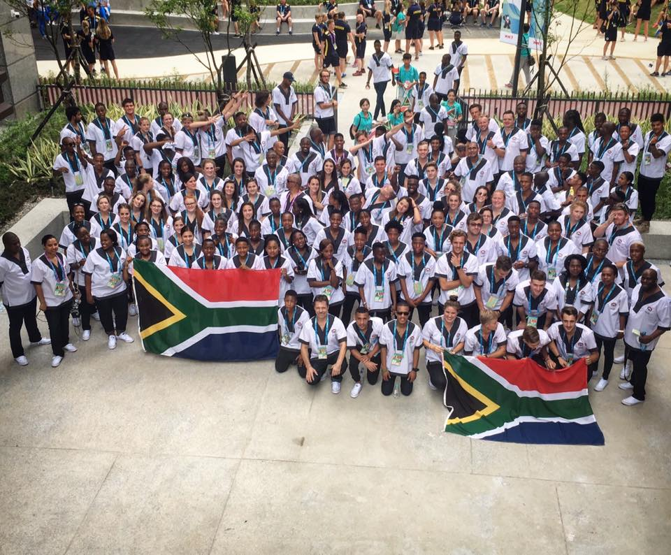 South Africa in Universiade action in Taiwan