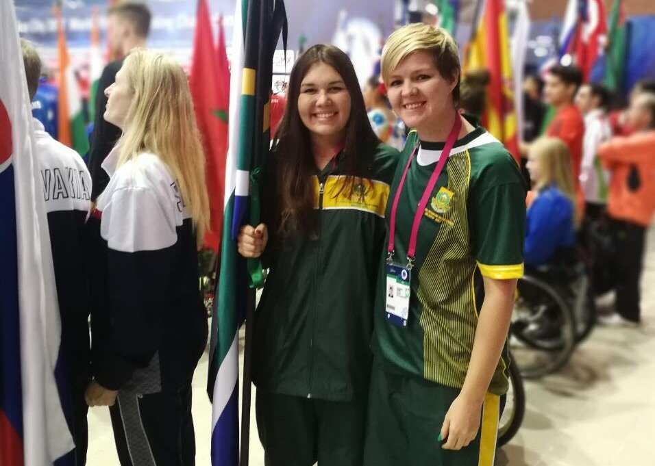 Swimmers in action for SA in Mexico City