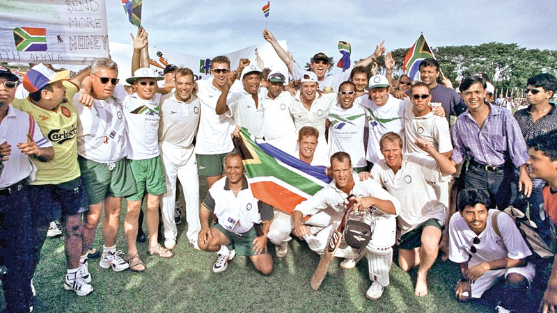 SA cricket team 1998