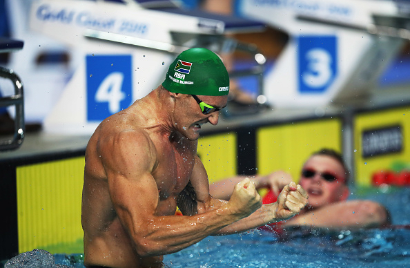 Le Clos Completes Butterfly Treble, Breaks Record