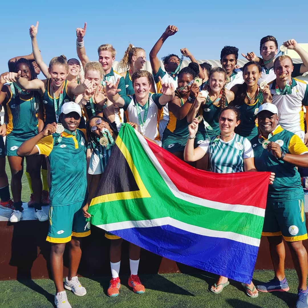 Successful African Youth Games for Team SA