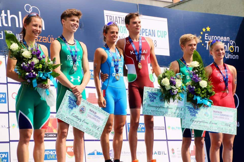 SA trio in the medal mix at European triathlon events