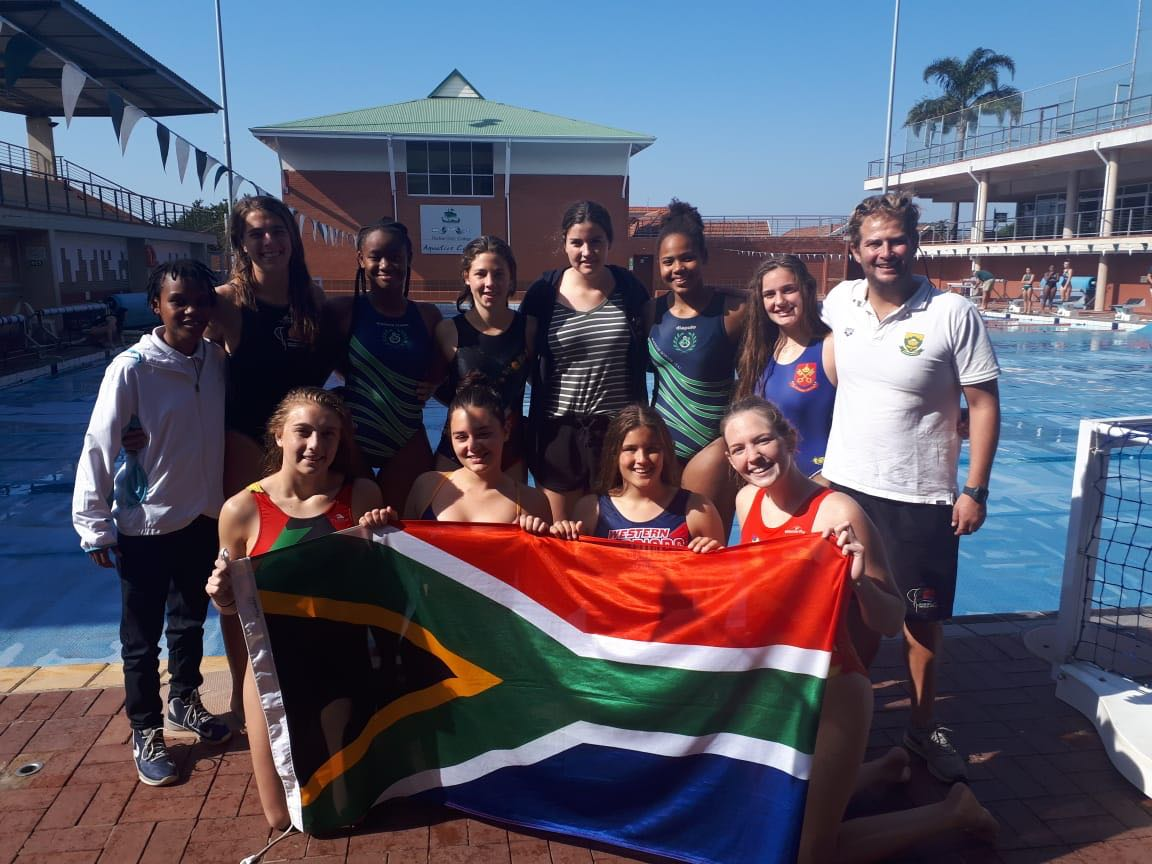 SA water polo team hope to make a splash at worlds