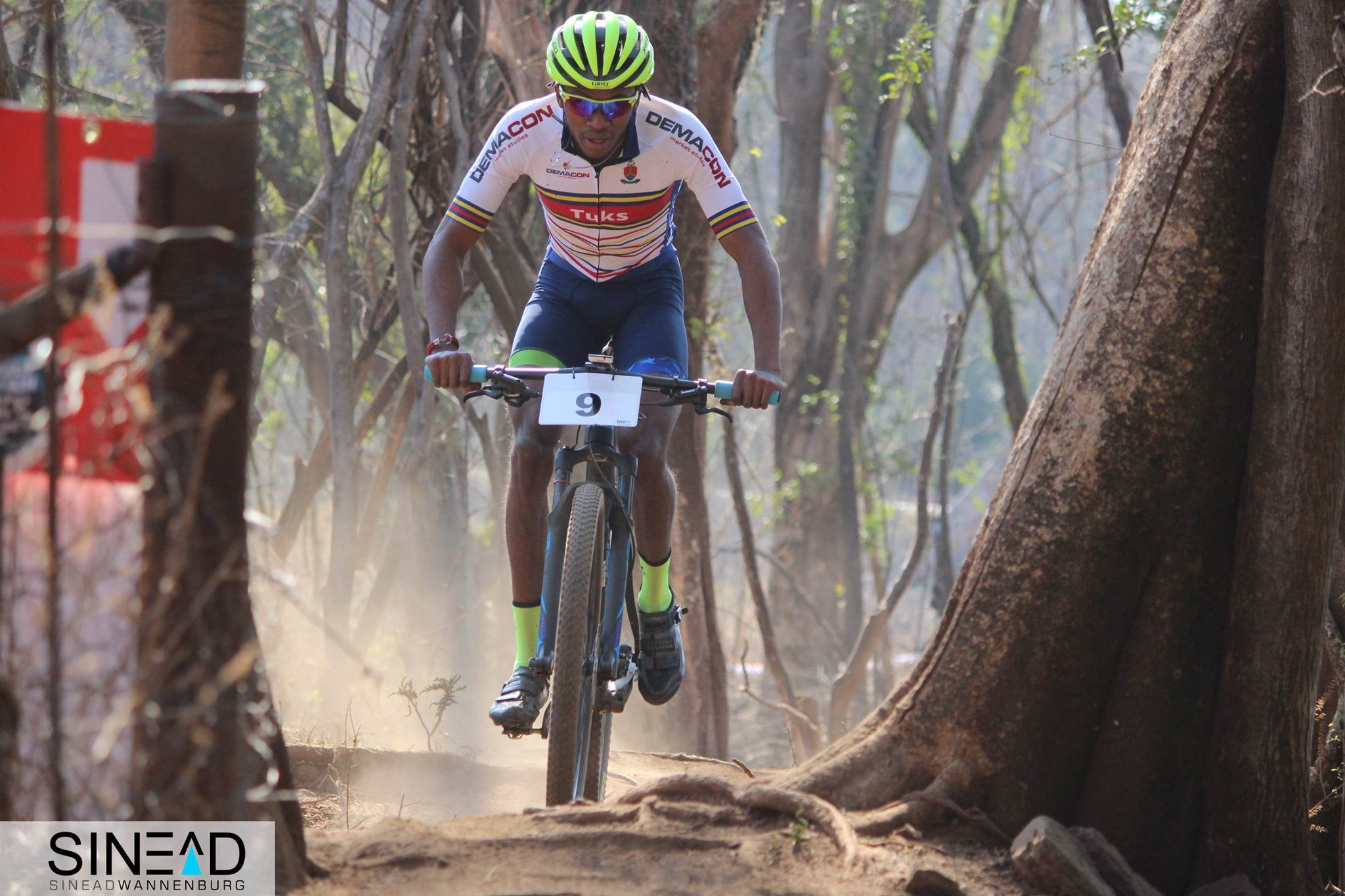 Mokgopo spreads inspiration on and off the bike
