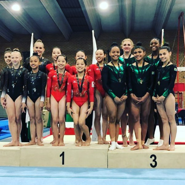 SA stars shine at international gymnastics competition