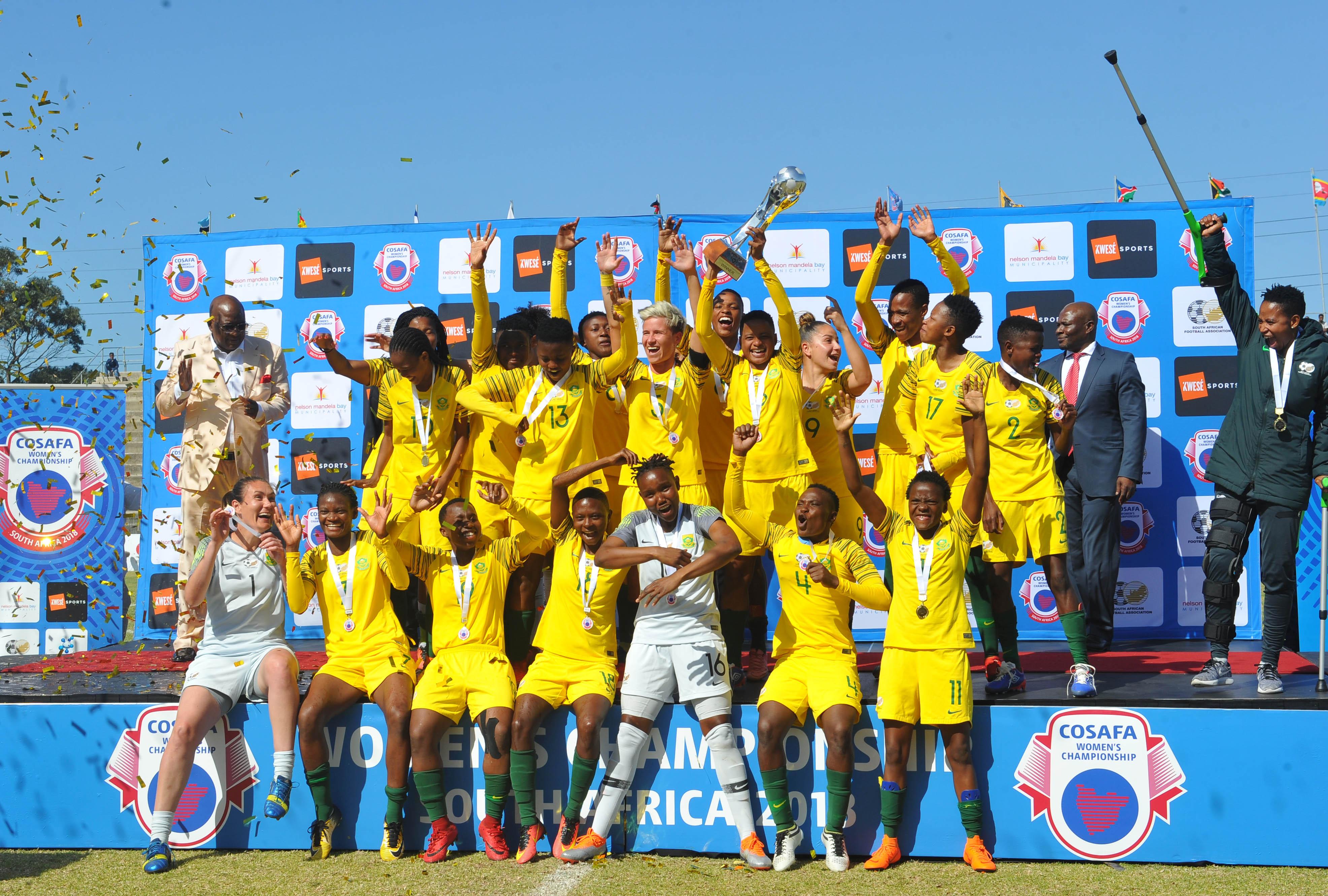 Jane brace brings COSAFA victory Banyana's way