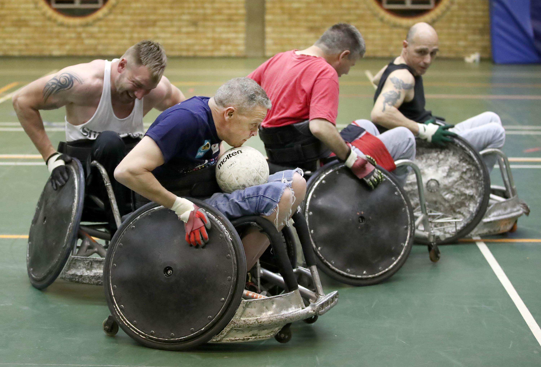 Wheelchair rugby helps bring Buitendag's mojo back