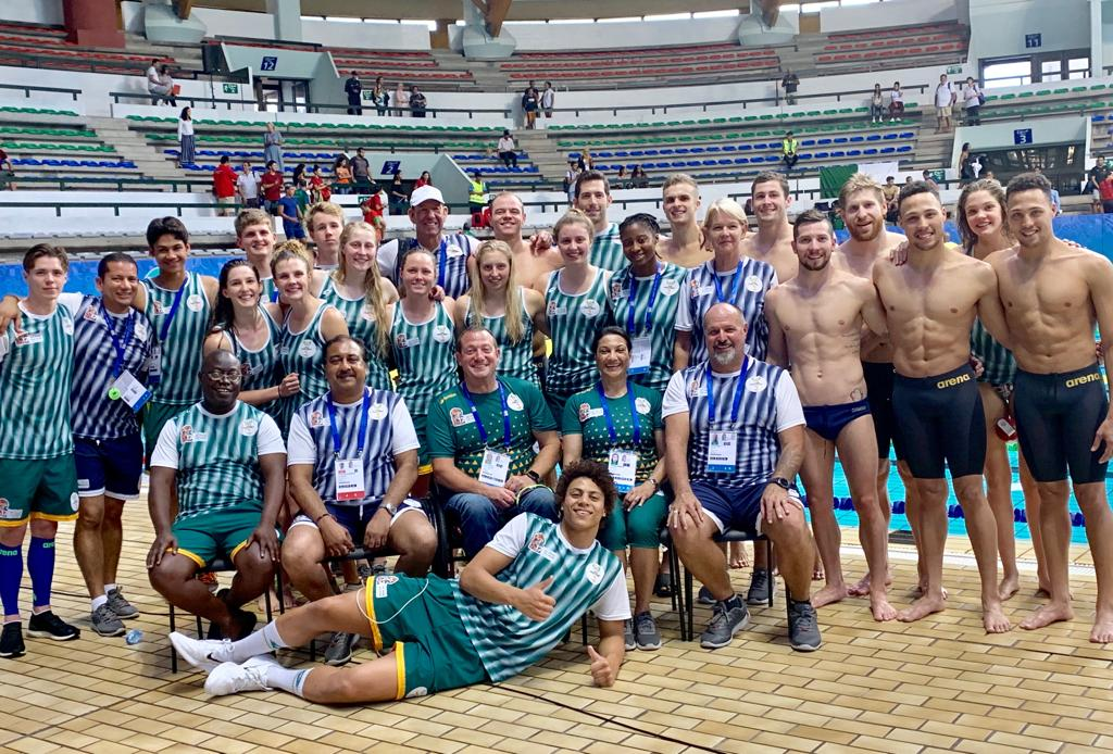 Gallagher leads SA's new swimming generation to glory