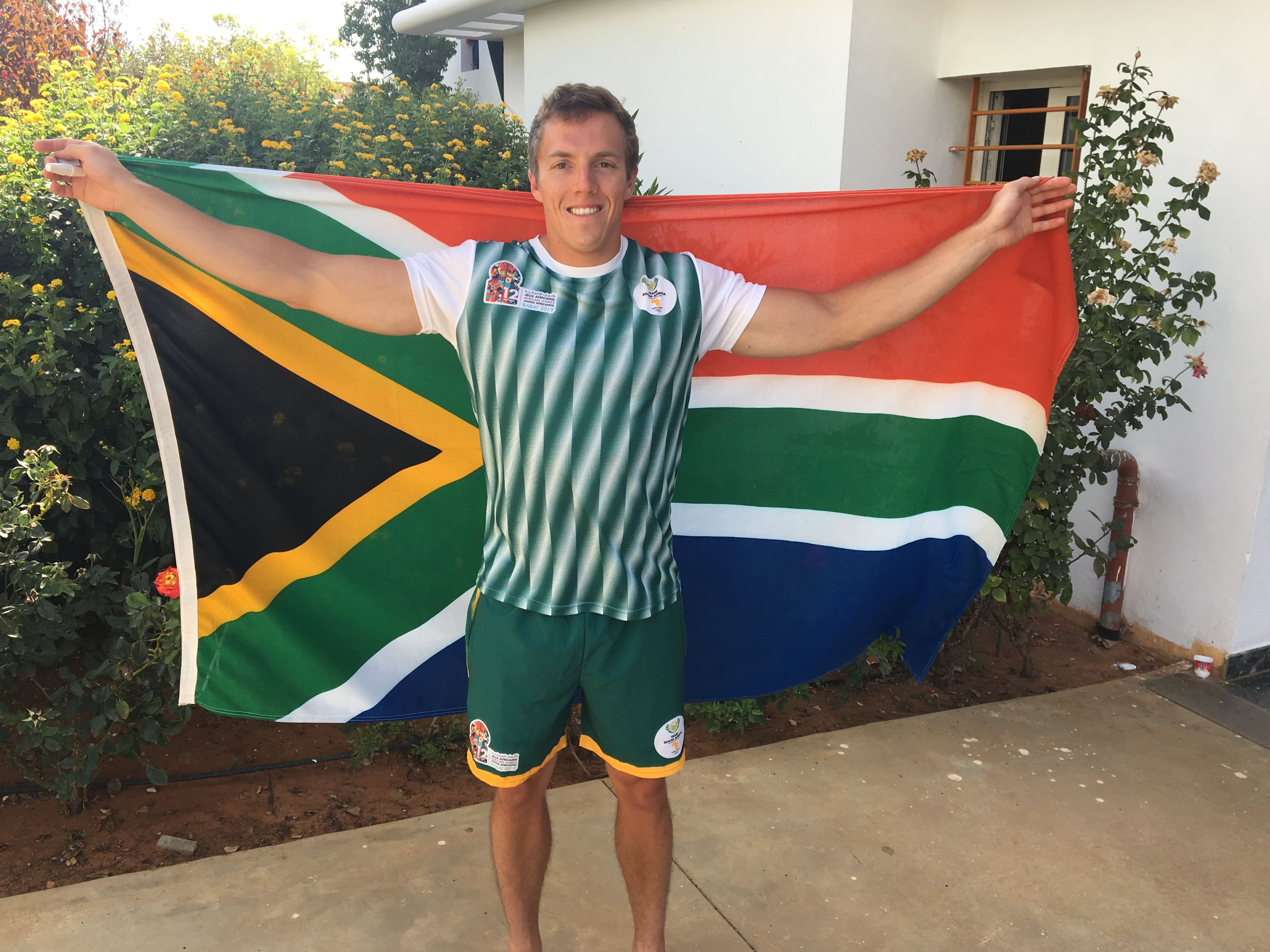 Coetzee takes gold and aims at Tokyo