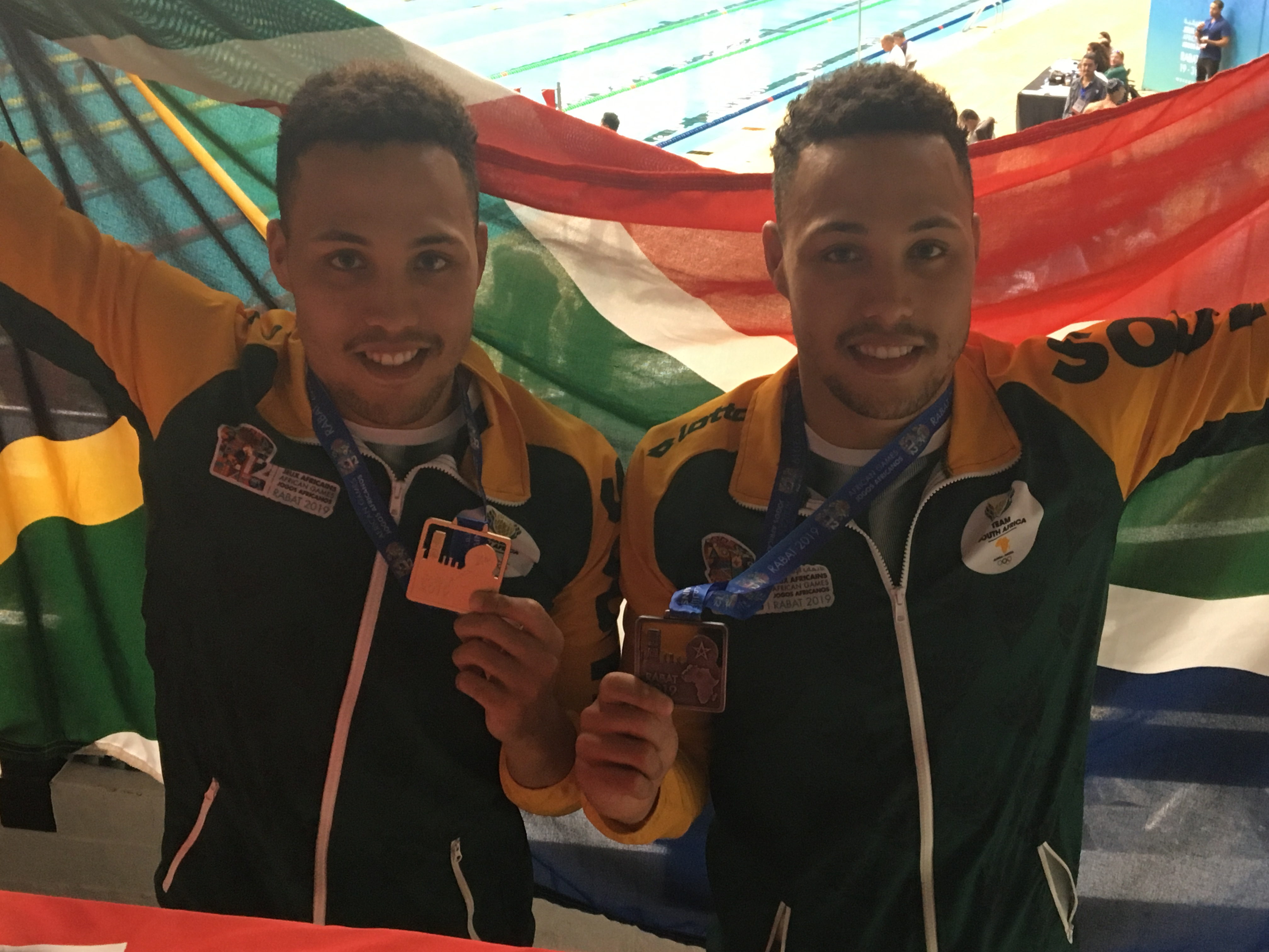 Basson twins making an impression
