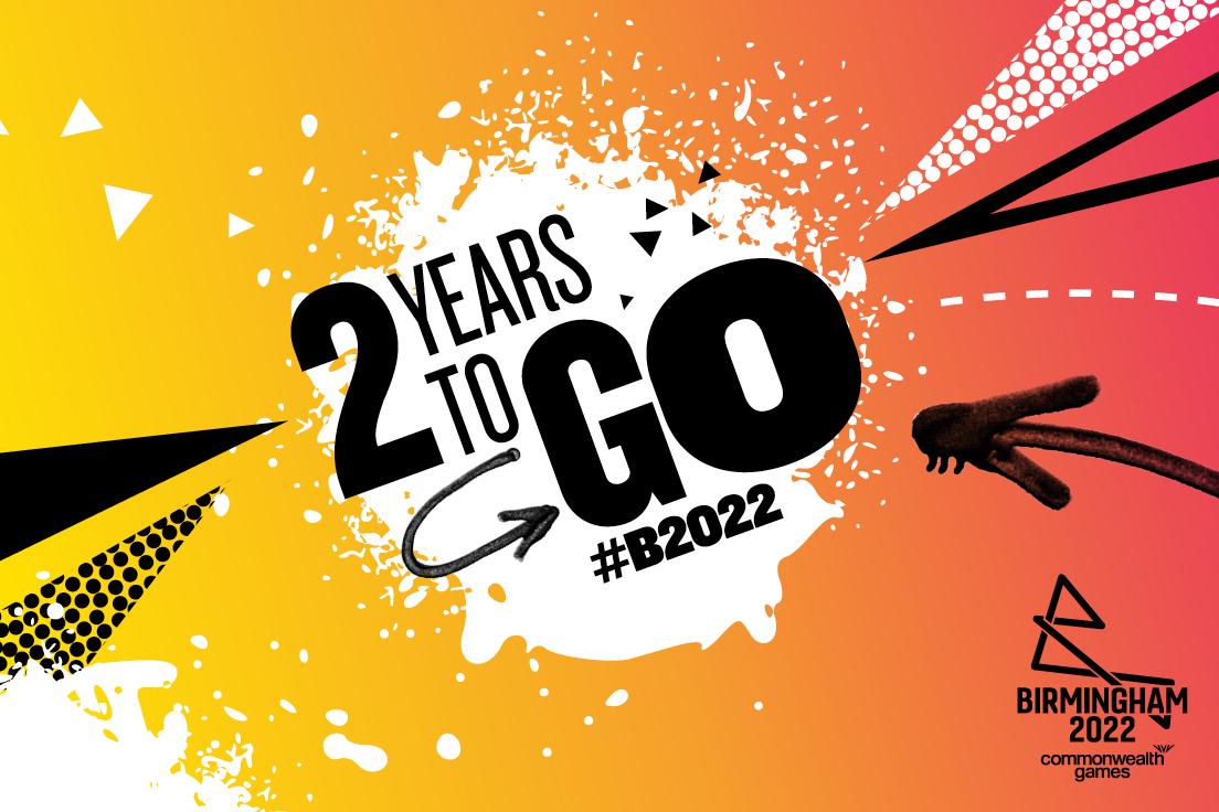 Birmingham counts down two years to 2022 Games