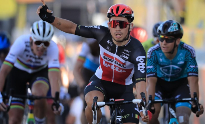 Gibbons 10th, Impey 19th in dramatic sprint finish