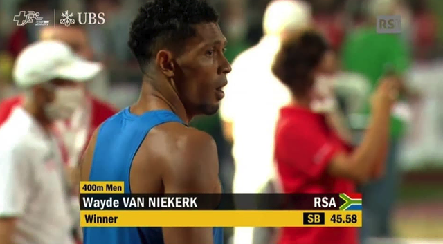Van Niekerk wins and sets sights on faster