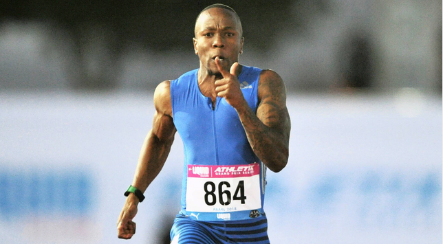 Simbine scorches to another 100m victory