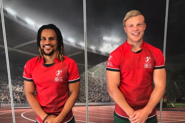 Davids, Pretorius in 2020 Sevens Dream Team