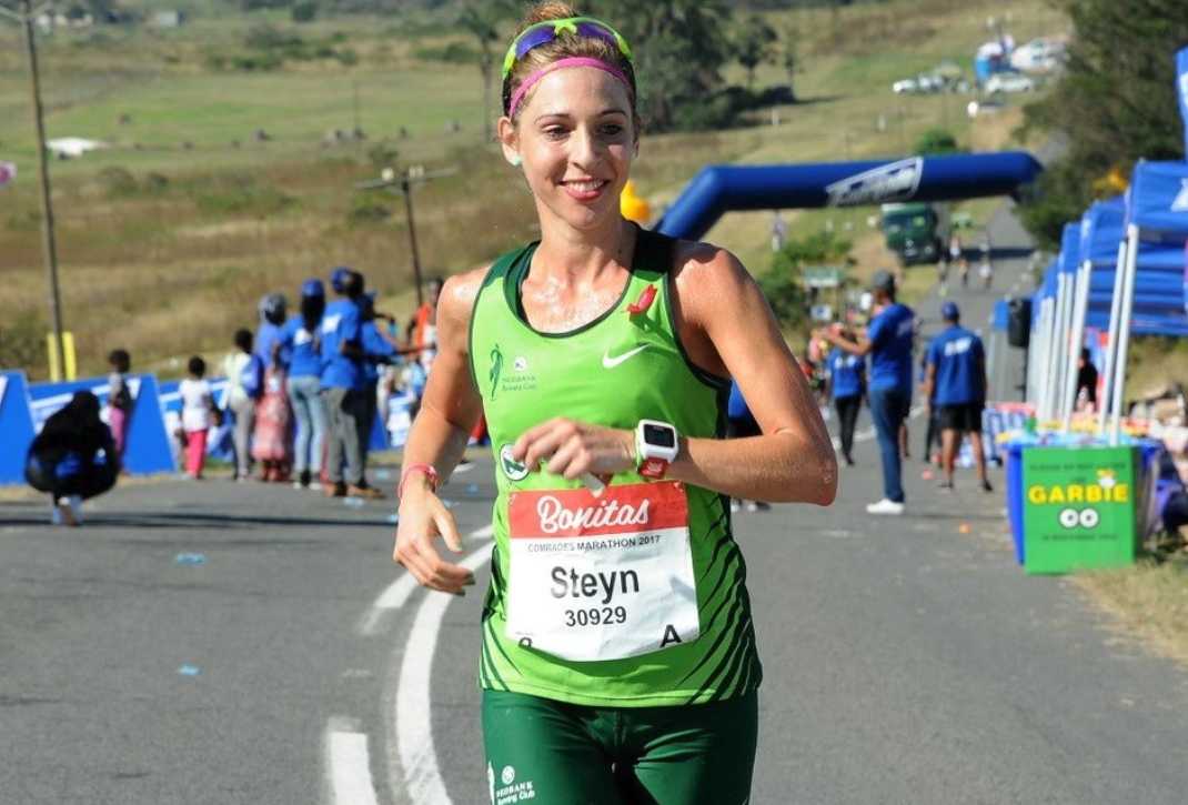 Steyn seventh in London Marathon in new PB