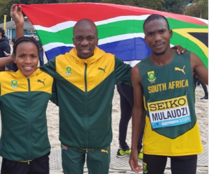 Mokoko sets new SA record in world 21km champs