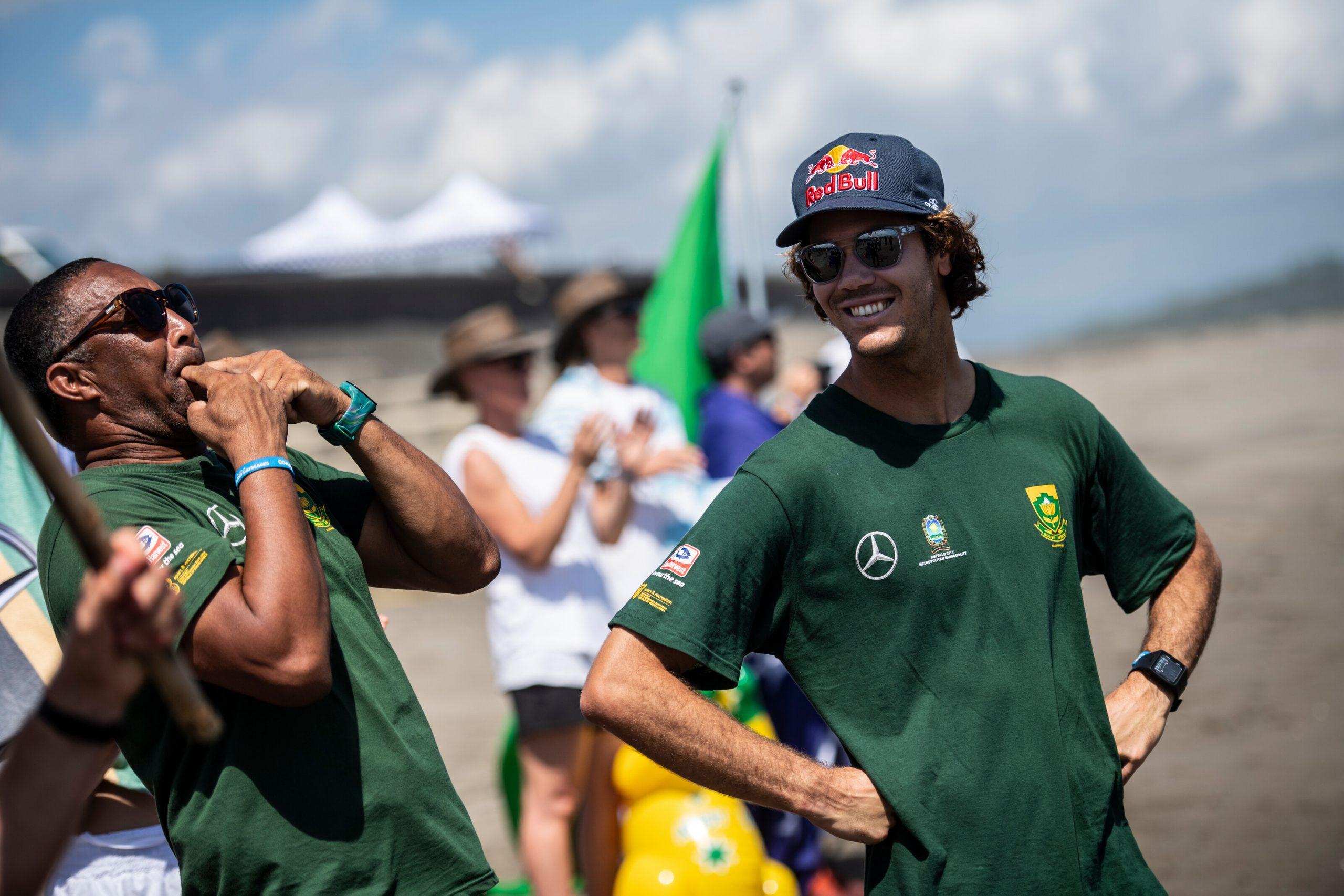 Jordy hits the waves in Hawaii season opener