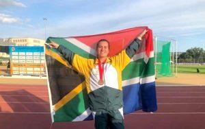 Van der Merwe targets Tokyo Paralympics