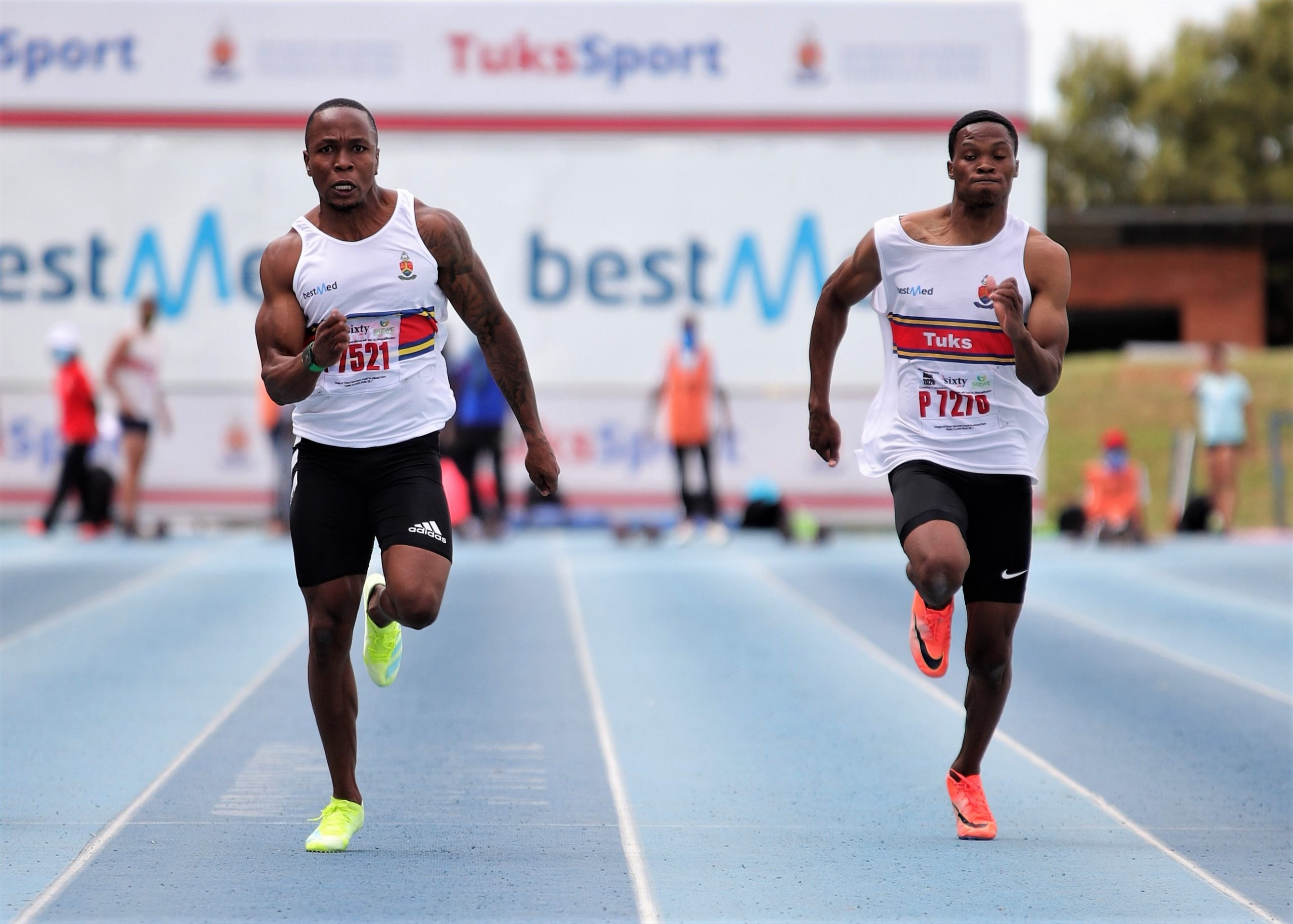 Simbine firmly in the sub 10-sec zone