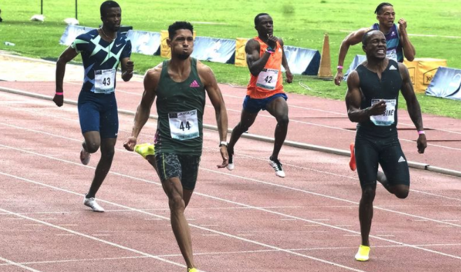 Van Niekerk shows his form in 200m win