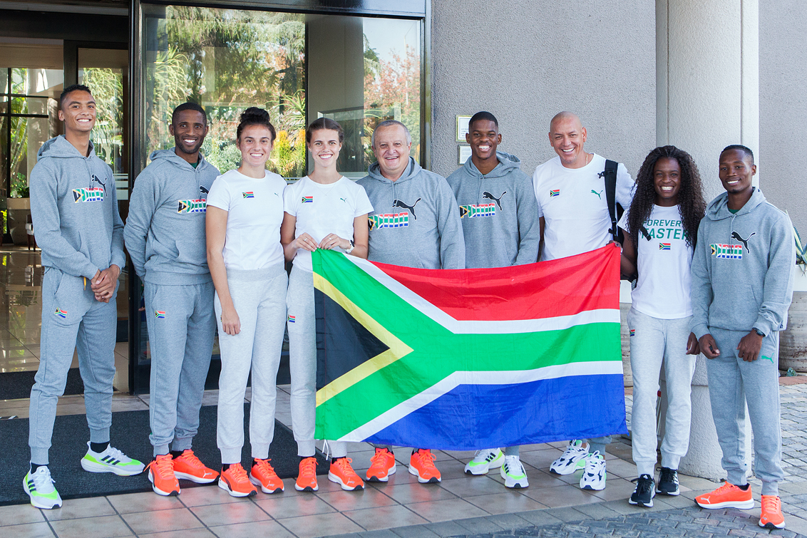 Sky is the limit for Team SA's relay squads