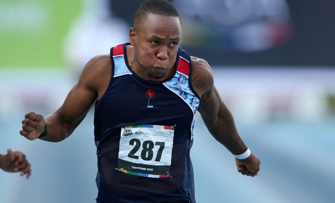 Simbine starts his Tokyo campaign in Italy