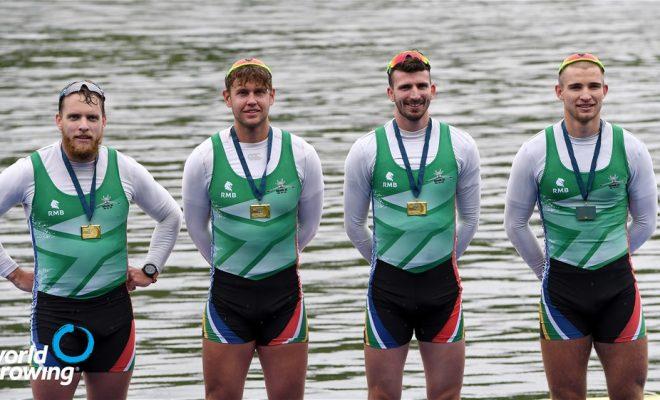 No rest for confident Team SA men's four