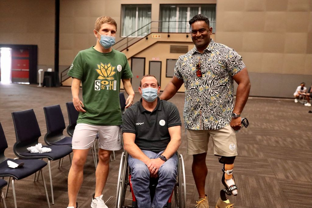 Team SA all dressed for Tokyo success!