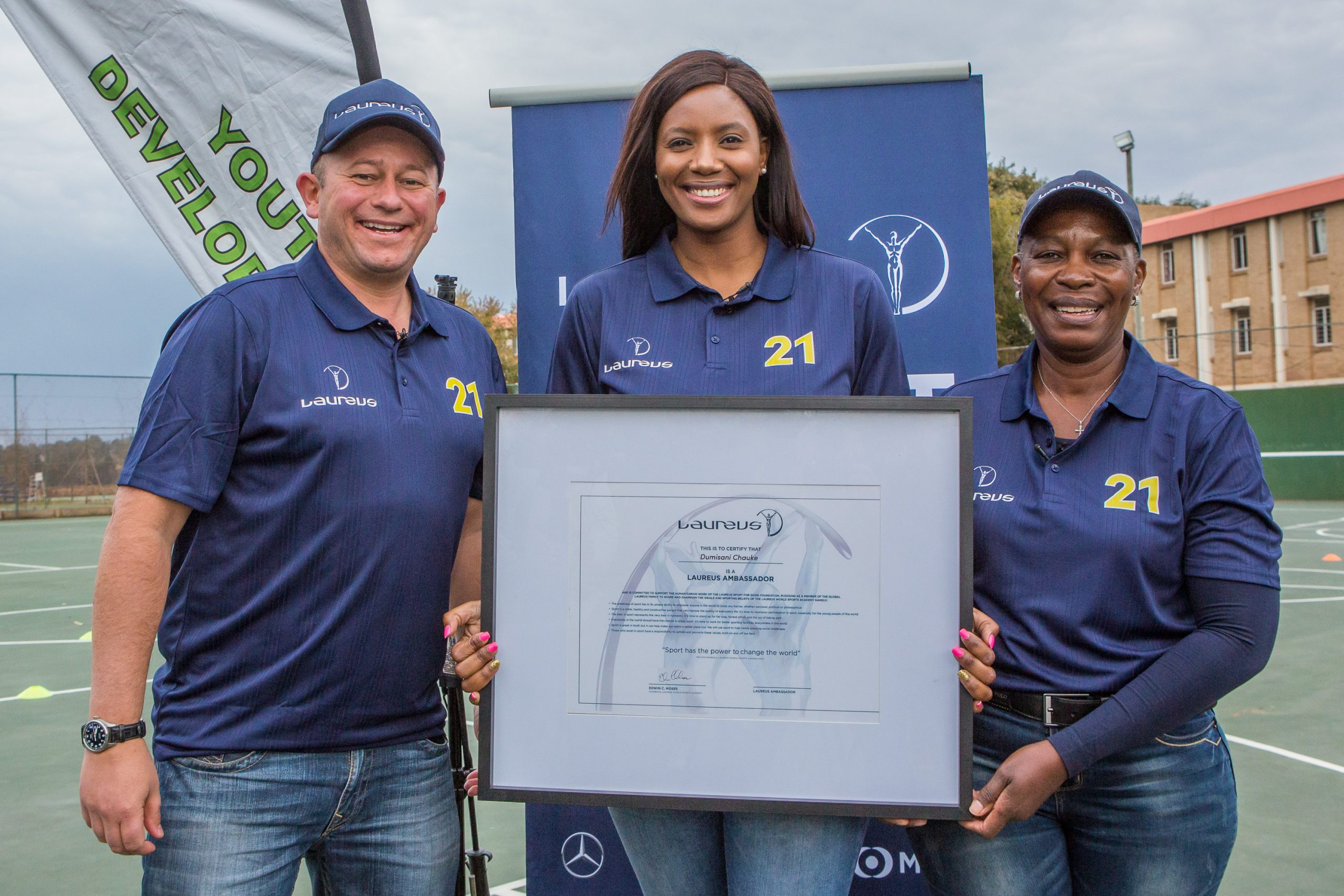 Chauke joins Laureus ambassador ranks