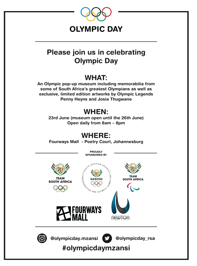 Join us in celebrating Olympic Day!