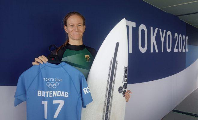 Buitendag downs Aussie great to reach quarters