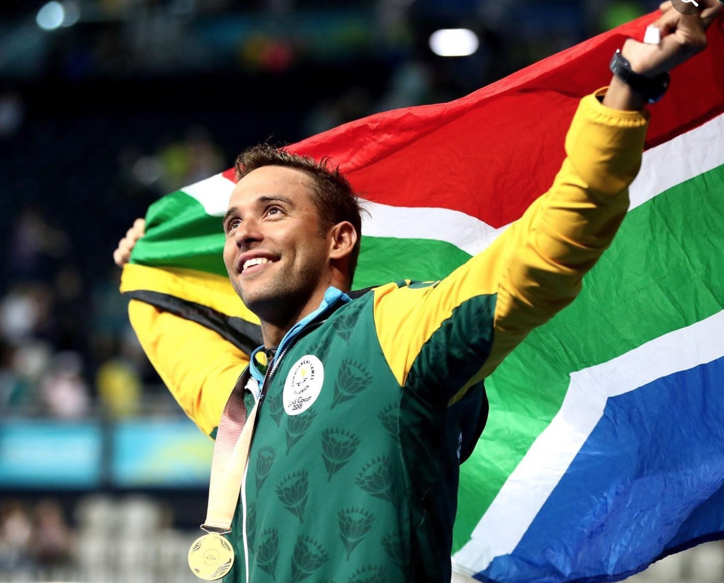 Le Clos, Mbande to carry SA flag at opening ceremony