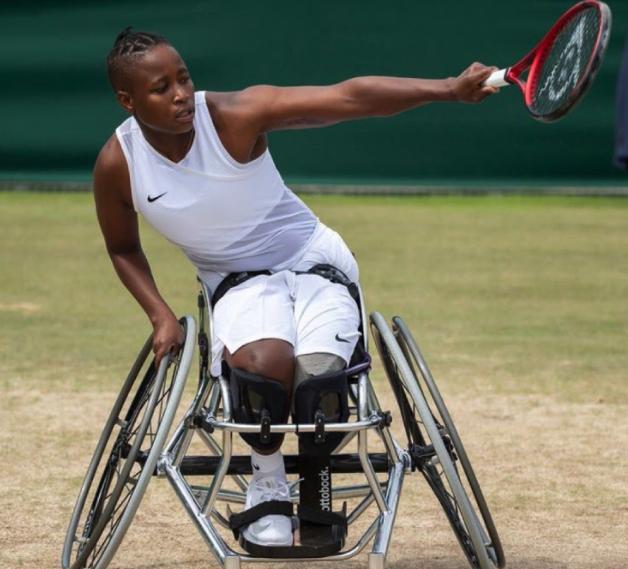 Montjane goes down in Wimbledon singles final