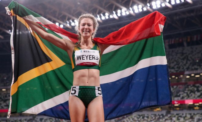 Golden girl Weyers reflects on crowning glory