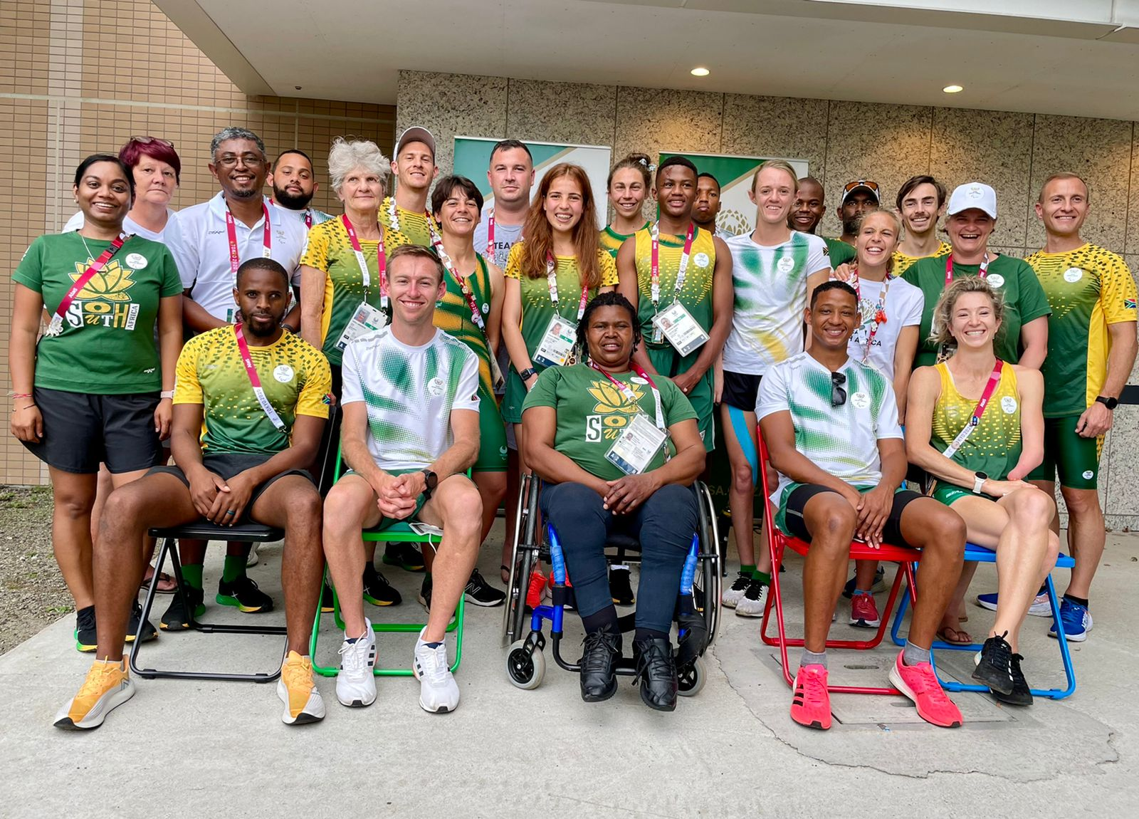 How laughter lights up the Paralympics
